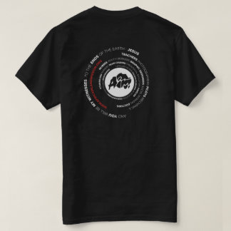 AIM Word Swirl T-shirt (Black)