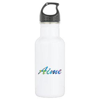 Aime Water Bottle in White