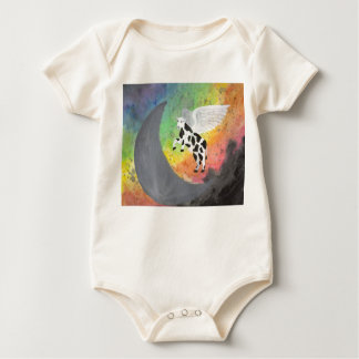 aiming for the moon baby bodysuit