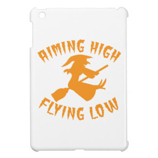 AimING High Flying low witch flying low HALLOWEEN iPad Mini Cover