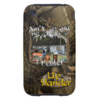 Ain't No Trash in my Trailer iPhone 3 Tough Case