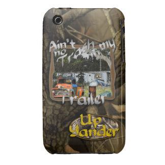 Ain't No Trash in my Trailer iPhone 3 Cases