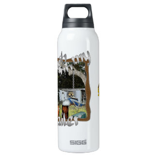 Ain't No Trash in my Trailer 16 Oz Insulated SIGG Thermos Water Bottle