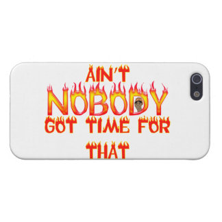Ain't Nobody Got Time Sweet Brown iPhone 5 Cover