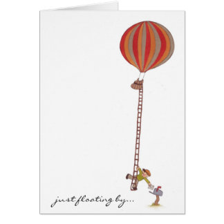 Air Balloon Delivery Notecard
