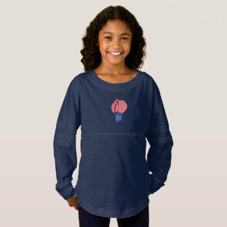 Air Balloon Girls' Jersey Spirit Shirt