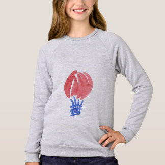 Air Balloon Girls' Raglan Sweatshirt