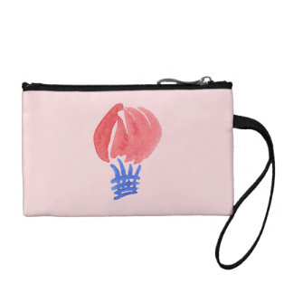 Air Balloon Key Coin Clutch Change Purse