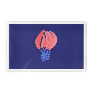 Air Balloon Medium Rectangle Tray