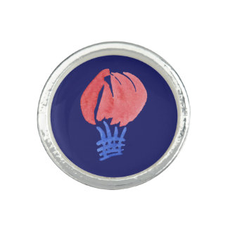 Air Balloon Round Ring
