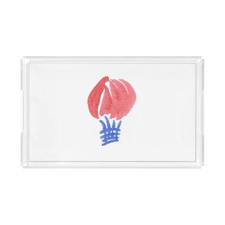 Air Balloon Small Rectangle Tray