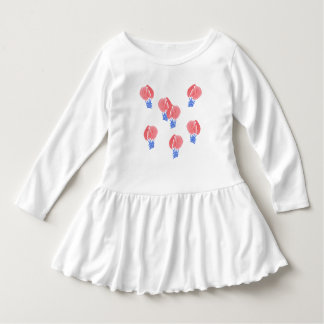Air Balloons Toddler Ruffle Dress
