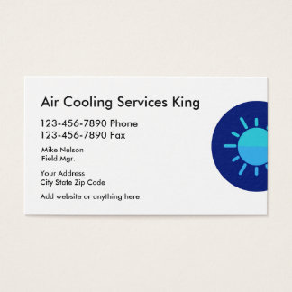 399 air conditioning business cards and air conditioning business air conditioning services business card reheart Images