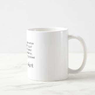Air Force Aunt No Problem Nephew Coffee Mug