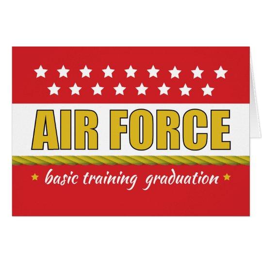 Air Force Basic Training Graduation Congrats Card