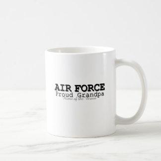 Air Force Grandpa Home of Brave Coffee Mug