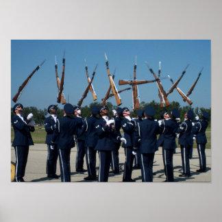 Air Force Honor Guard Poster