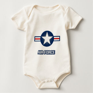 Air Force Infant Creeper (100% Organic cotton)