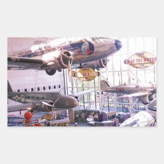 Air Museum Rectangular Sticker