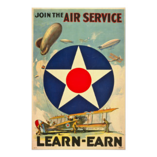 Air Service Recruiting Poster