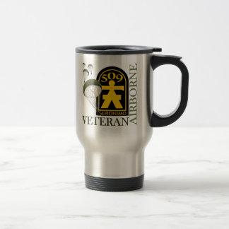 Airborne Veteran - 509th PIR Stainless Steel Travel Mug