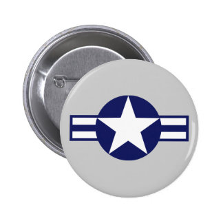Aircraft Star 2000 6 Cm Round Badge
