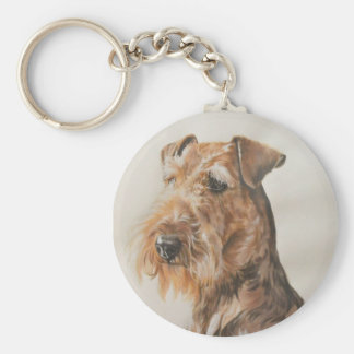 Airedale Key Ring