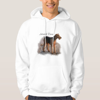 Airedale Terrier Art Gifts Hoodie