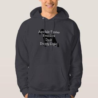 Airedale Terrier Breeders Hoodie