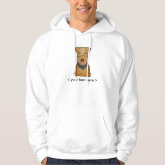 Airedale Terrier Cartoon Personalized Hoodie