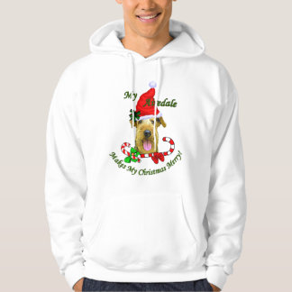 Airedale Terrier Christmas Gifts Hoodie