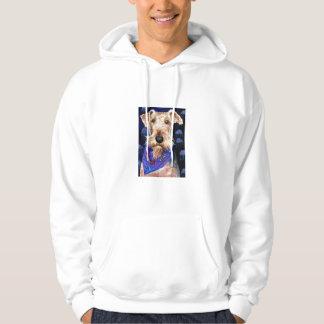 Airedale Terrier Hoodie Sweatshirt Seadaleprint