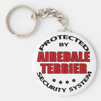 Airedale Terrier Security Key Ring