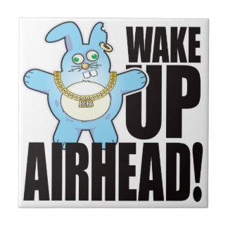 Airhead Bad Bun Wake Small Square Tile