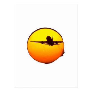 AIRLINE SUN POSTCARD
