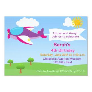 airplane birthday invitation templates 500 airplane birthday invitations. Black Bedroom Furniture Sets. Home Design Ideas
