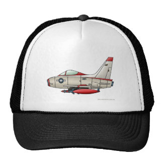 Airplane Jet Fighter Military Aircraft Hats