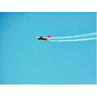 Airplane Jet Mig Standing Photo Sculpture