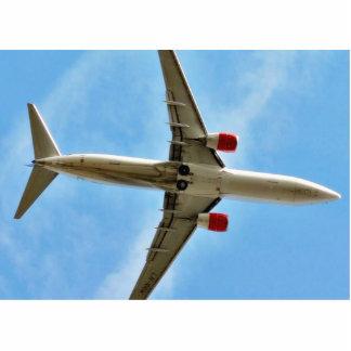 Airplane On Sky Close Up Photo Cutouts