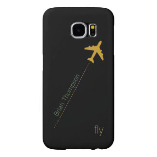 airplane personalized samsung galaxy s6 cases