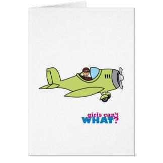 Airplane Pilot - Light/Blonde Card