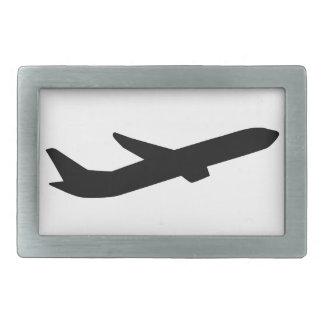 Airplane take off depature belt buckles
