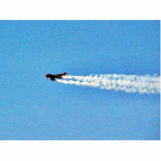 Airplanes Jet Mig Standing Photo Sculpture