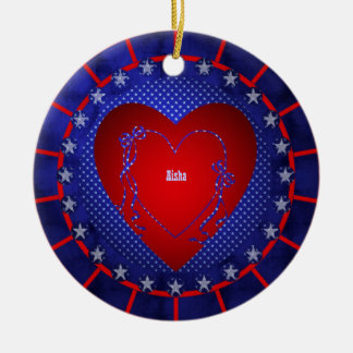 Aisha Christmas Ornament