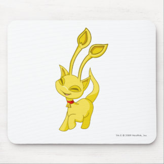 Aisha Gold Mouse Pad