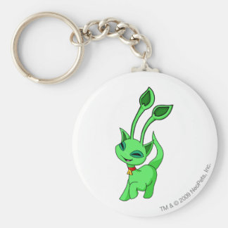 Aisha Green Key Ring