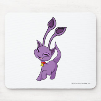 Aisha Purple Mouse Pad