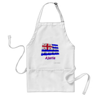 Ajaria Waving Flag with Name Standard Apron