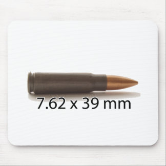 AK47 7.62 x 39mm Ammo Round Mouse Pad