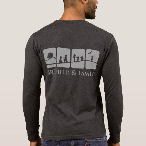 AK Child & Family Men's Henley (Back) T-shirts
